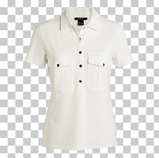 Blouse Sleeve Button Barnes & Noble Neck PNG