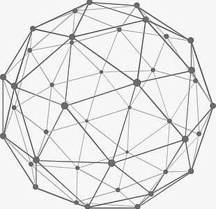 Earth Geometric Lines PNG