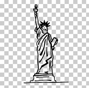 Statue Of Liberty Drawing Eiffel Tower Painting PNG