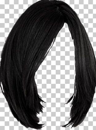 Black Hair Hairstyle Wig Hair Coloring PNG
