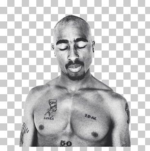 Tupac Shakur Biggie & Tupac Hip Hop Music Rapper Black And White PNG