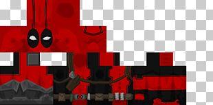 Minecraft: Pocket Edition Deadpool Skin Mod PNG