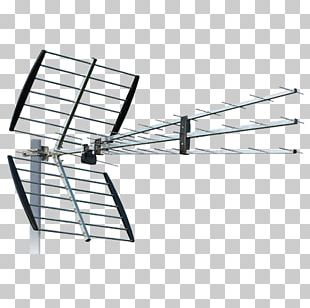 Aerials Television Antenna DVB-T Ultra High Frequency Digital Terrestrial Television PNG