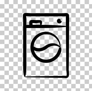 Washing Machines Home Appliance Clothes Dryer Laundry Pictogram PNG