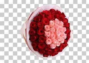 Beach Rose Pink Flower Nosegay Red PNG