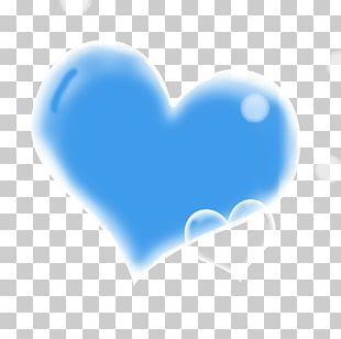 Blue Love PNG