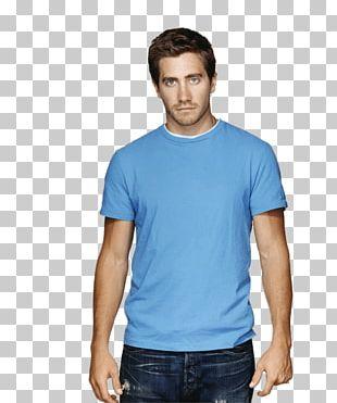 Jake Gyllenhaal Blue Tshirt PNG