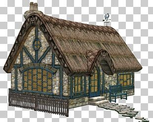 Cottage Fairy Tale House PNG