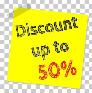Discounting Sales Price Retail PNG