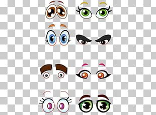 Cartoon Eye Drawing PNG
