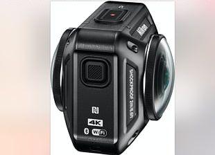 Nikon KeyMission 360 Action Camera Video Cameras 4K Resolution PNG