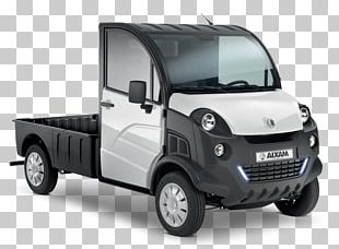 Aixam Pickup Truck Car Van Electric Vehicle PNG