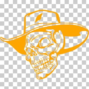 Cowboy Hat Skull Stock Photography PNG