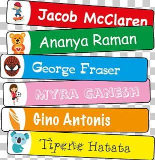 Label Sticker Color Symbol Name Tag PNG