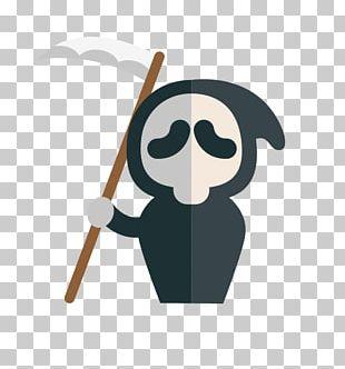 Ghostface Halloween Cartoon PNG