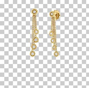 Earring Colored Gold Necklace Jewellery PNG