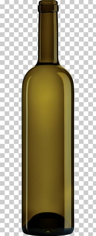 White Wine Glass Bottle PNG