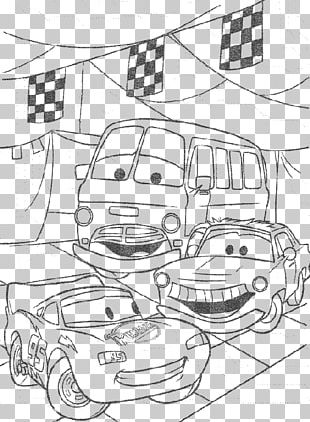 Cars Mater Coloring Book The Walt Disney Company PNG
