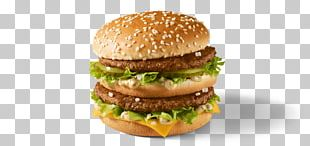 McDonald's Big Mac Hamburger Whopper Cheeseburger French Fries PNG