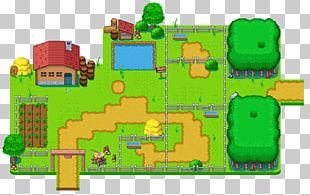 Tile-based Video Game Crystalis Pixel Art PNG