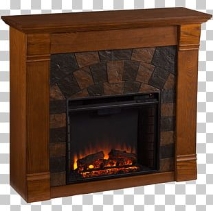 Electric Fireplace Electricity Shelf Heater PNG