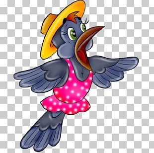 Bird Parrot Drawing Funny Animal PNG