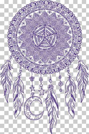 Dreamcatcher Euclidean Pattern PNG