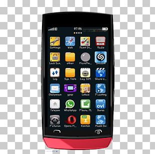 Feature Phone Smartphone Samsung Galaxy S Android Handheld Devices PNG
