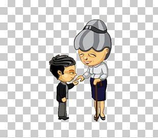 Hand-kissing Child Teacher Learning PNG