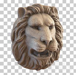 Lionhead Rabbit 3D Computer Graphics Sculpture PNG