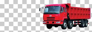 Commercial Vehicle Dump Truck Car FAW Group PNG