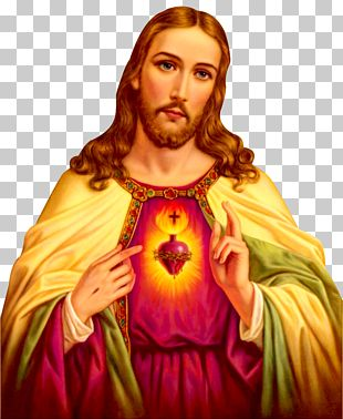 Jesus Sacred Heart Catholic Devotions Novena PNG
