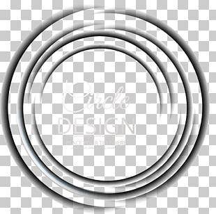Brand White Circle Font PNG