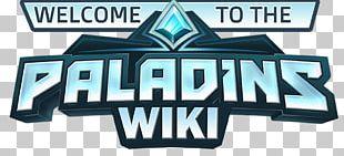 Logo Paladins Font Game Product PNG