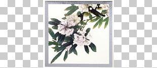 Floral Design 喻繼高作品 Gongbi Flower Art PNG