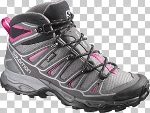 Hiking Boot Sneakers Salomon Group Gore-Tex Shoe PNG