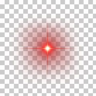 Light Line Angle Point Red PNG