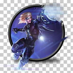 Purple Electric Blue Fictional Character PNG