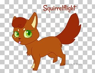 Kitten Whiskers Warriors Squirrelflight Leafpool PNG