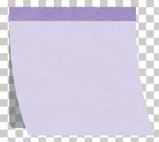 Post-it Note Paper Yellow Purple Illustration PNG