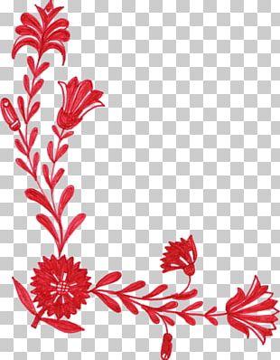 Flower Red Petal PNG