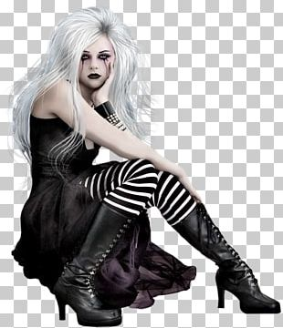 Gothic Fashion Gothic Art Woman Gothic Beauty Goth Subculture PNG