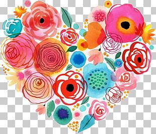 Watercolor Painting Flower Floral Design Drawing PNG