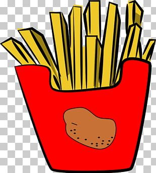 McDonald's French Fries French Cuisine Hamburger Fast Food PNG