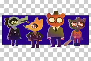 Drawing Night In The Woods Work Of Art PNG