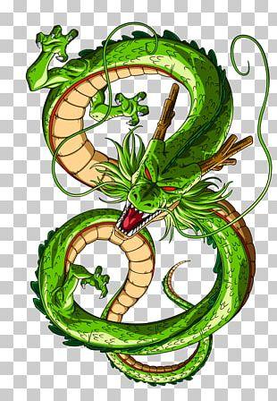 Shenron Goku Gohan Vegeta Dragon Ball PNG