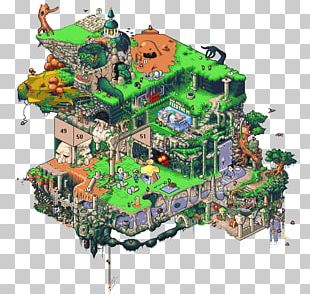 Super Mario Bros. Isometric Graphics In Video Games And Pixel Art PNG