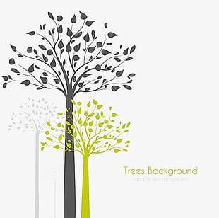 Creative Background Abstract Tree PNG