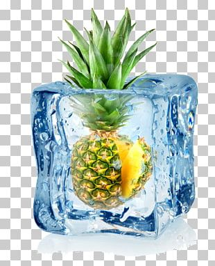 Ice Cube Juice Flavor PNG