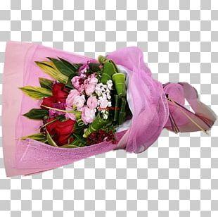 Garden Roses Pink Hong Kong Flower Bouquet Cut Flowers PNG